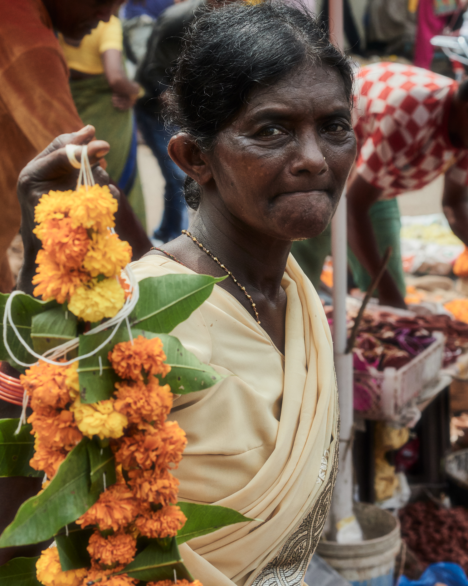 """indian flower garlands"""