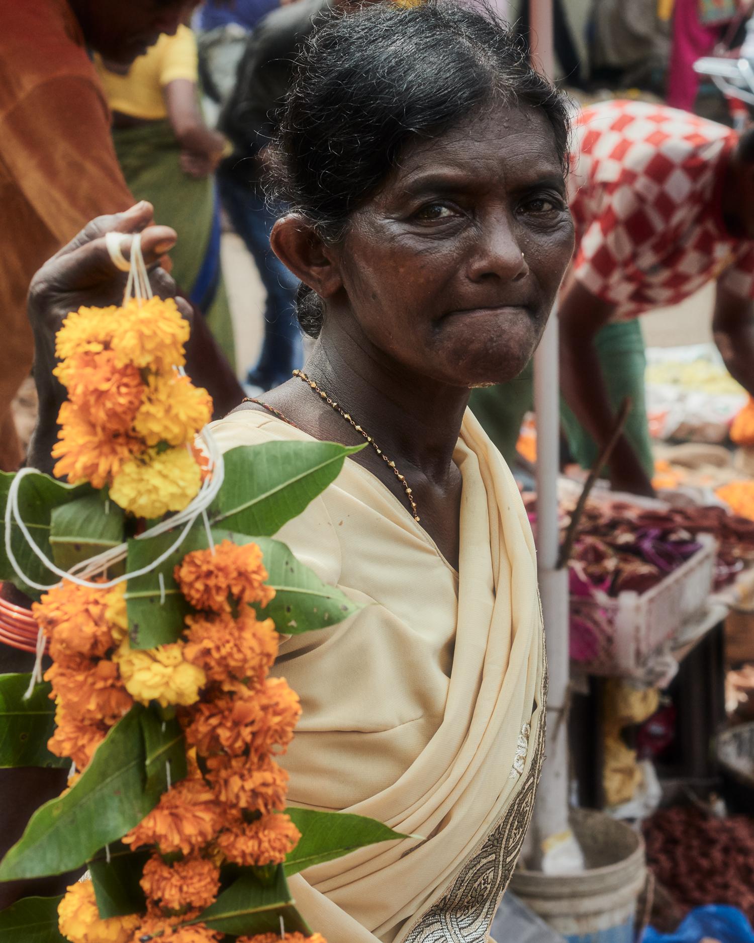 """indian flower garlands"""