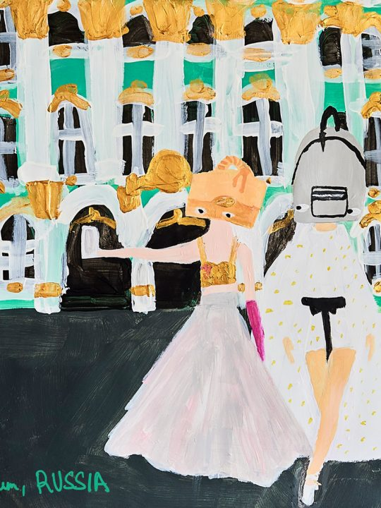 """Fashion Illustration highlights travel world high fashion"""