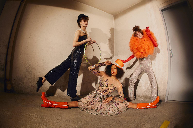 """Rock'N'Roll Circus fashion"""